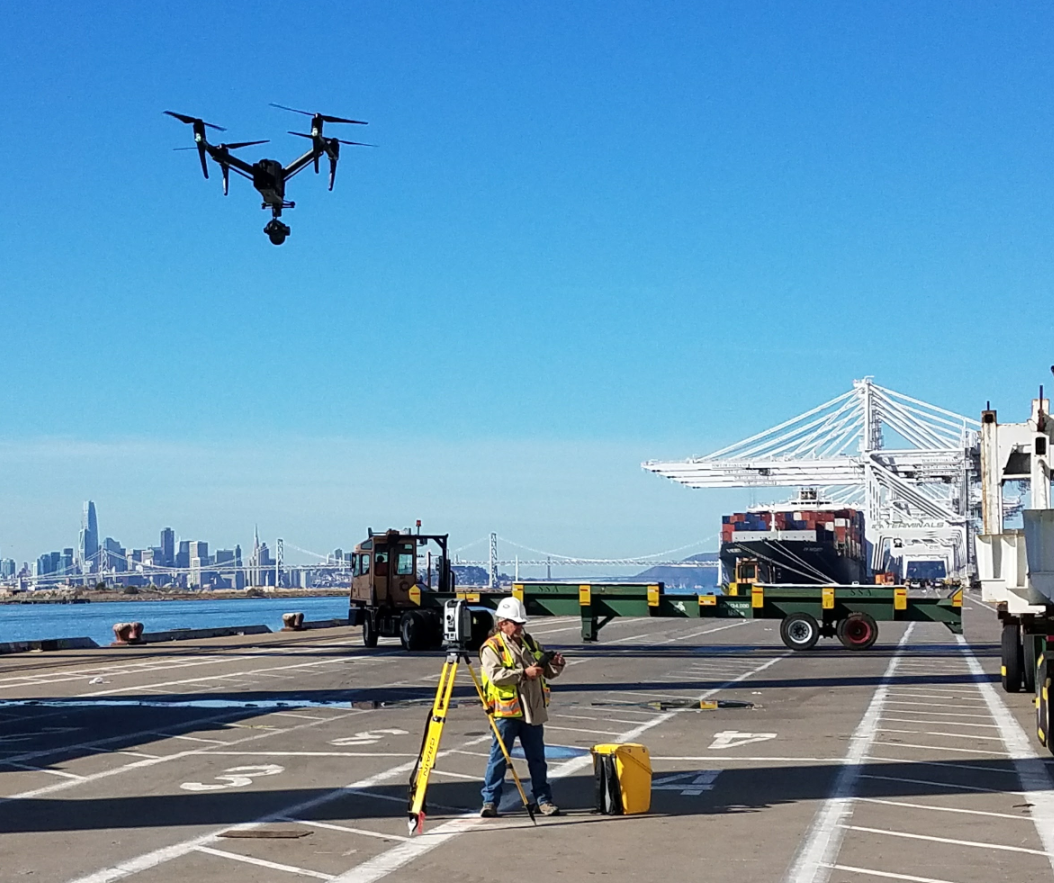 FAA Certified Drone Operator and Pilot for Land Surveys